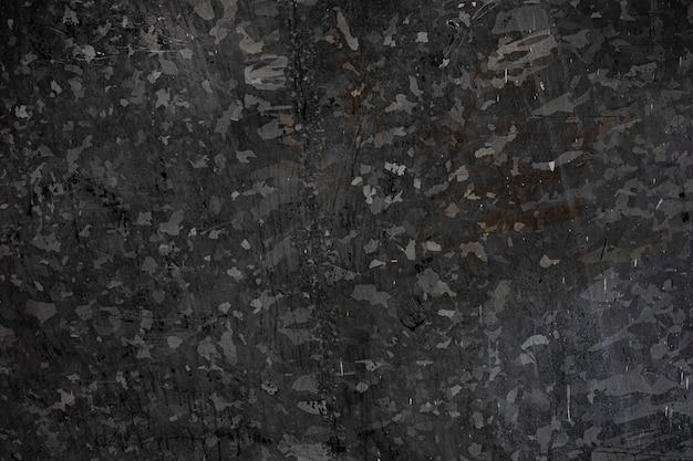Fond de plaque de zinc noir foncé texturé