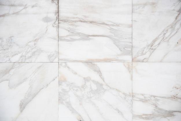 Fond de plaques de marbre blanc