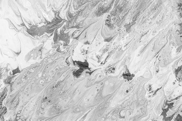 Fond plat d'eau grasse blanche