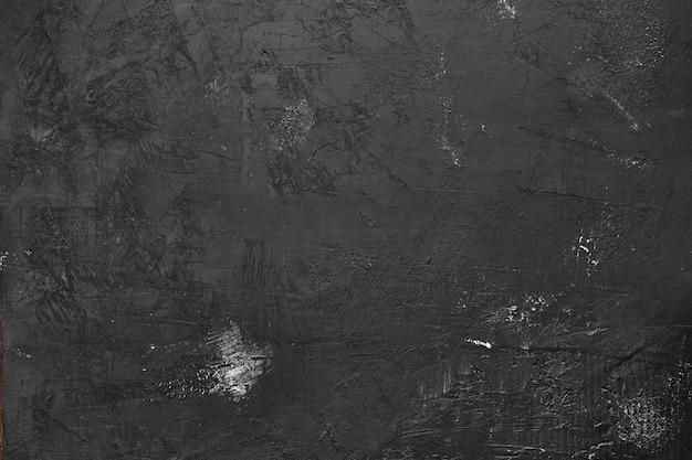 Fond de plâtre noir