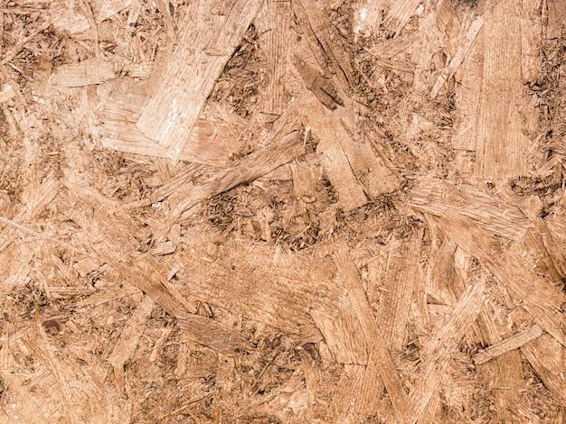 Fond plein cadre de sciure de bois