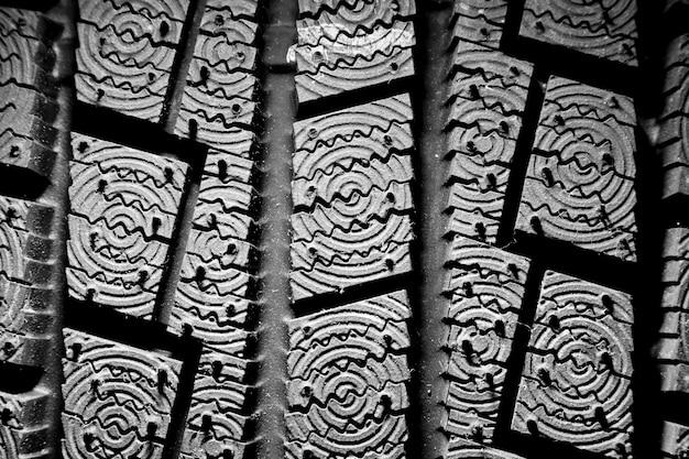 Fond de pneu d'hiver