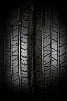 Fond de pneu de voiture, pneu closeup texture fond