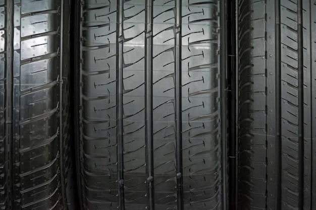 Fond de pneu de voiture, pneu closeup texture fond,