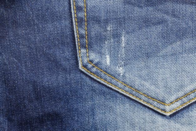 Fond de poche de jeans.