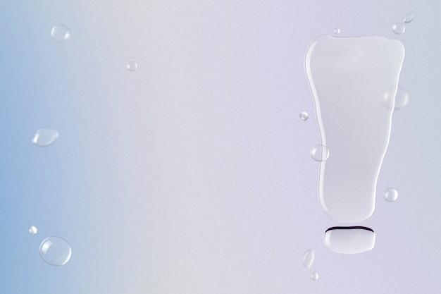 Fond de point d'exclamation, fond d'écran de bordure d'eau