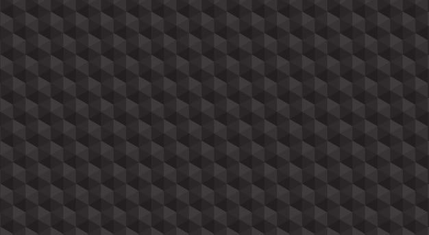 Fond de polygone noir