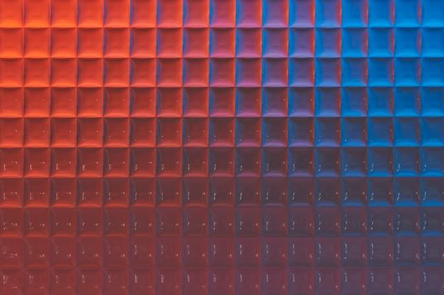 Fond de produit esthétique avec verre à motifs