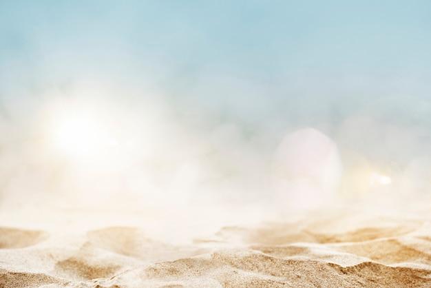 Fond de produit de plage