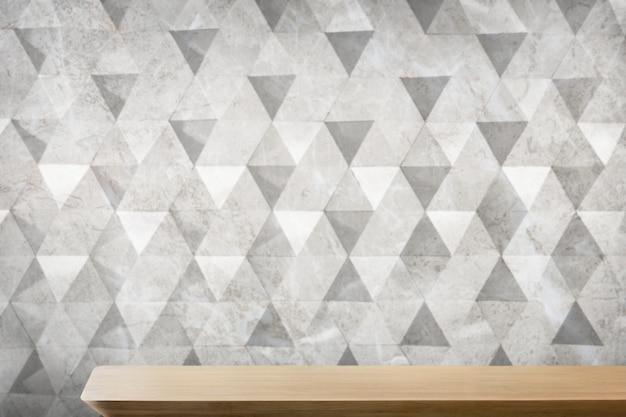 Fond de produit de table en bois