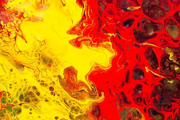 Fond psychédélique multicolore