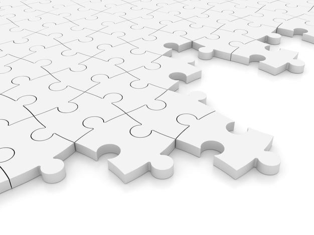 Fond de puzzle 3d