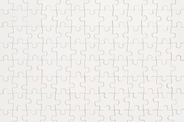 Fond de puzzle blanc