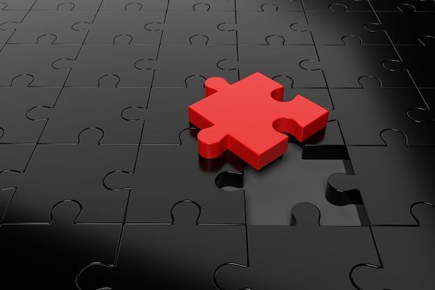 Fond de puzzle