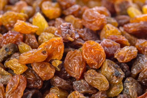 Fond de raisins secs