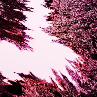 Fond de rasage abstrait métal magnétique violet