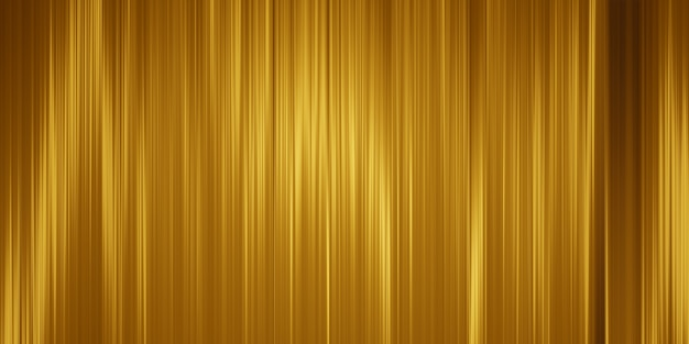 Fond de rayons dorés art abstrait.