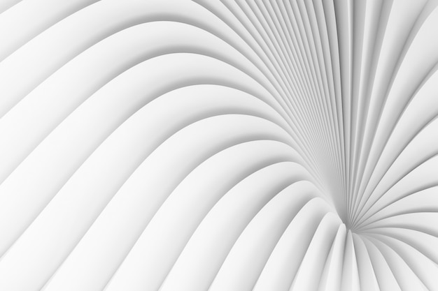 Fond de rayures blanches divergentes