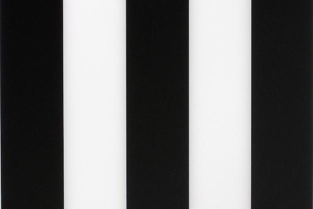 Fond de rayures verticales noir et blanc, texture
