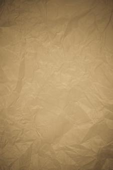 Fond de recyclage de papier froissé.