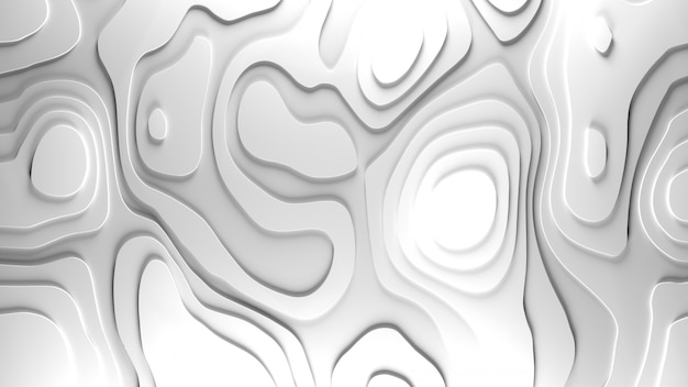 Fond de relief de topologie 3d