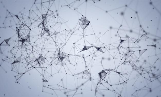 Fond de réseau plexus