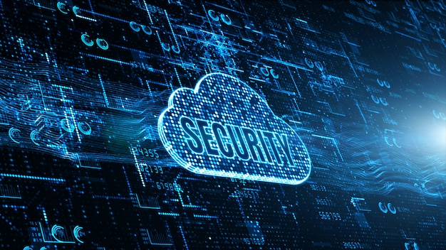 Fond de réseau de technologie et de connexion de données