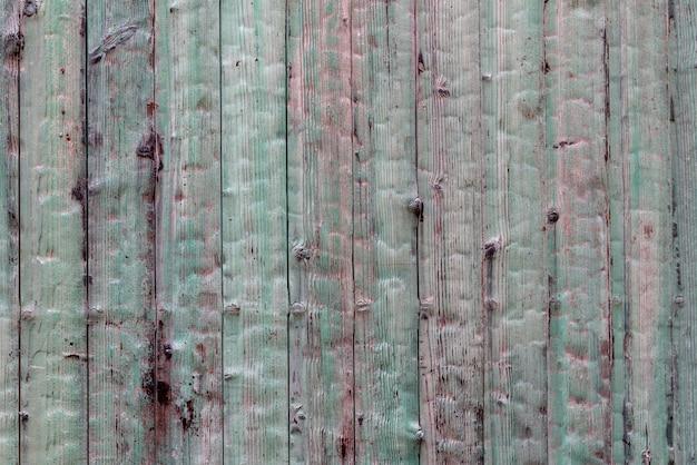 Fond rétro en bois vert antique grunge bleu