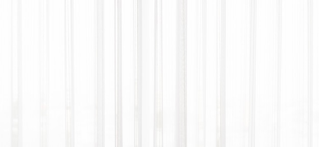 Fond de rideau blanc
