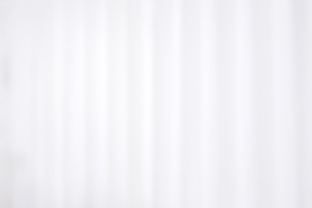 Fond de rideau hôpital blanc flou abstrait