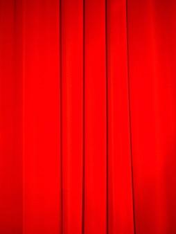 Fond de rideau rouge