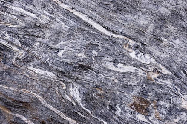 Fond de roche métamorphique plié