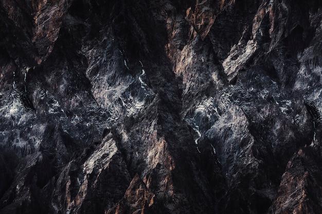 Fond de roche sombre