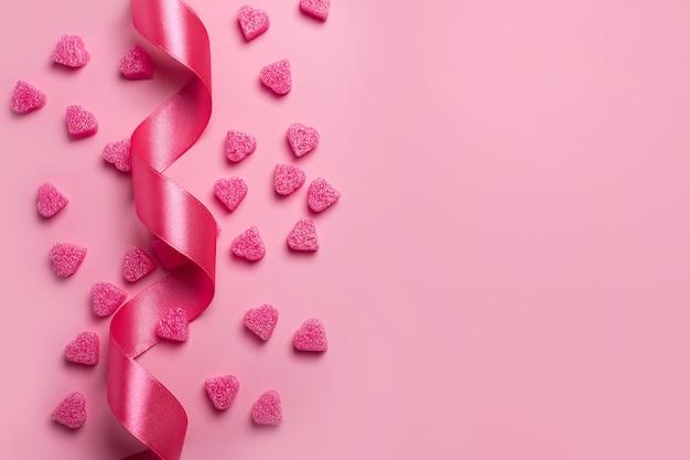 Fond romantique pour la saint-valentin.