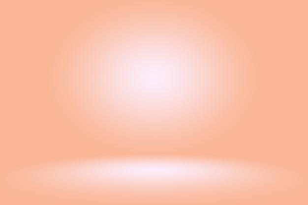Fond rose abstrait conception de mise en page de noël saint-valentin, studio, salle, modèle web, rapport d'activité avec un dégradé de couleur de cercle lisse.