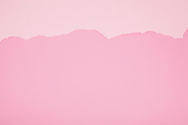 Fond rose avec une fracture