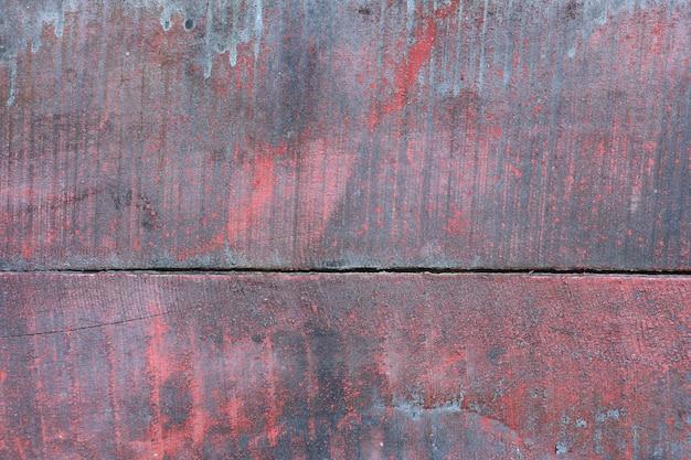 Fond rouge vintage et rétro en bois ou texture