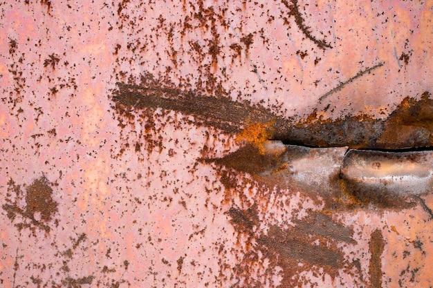 Fond de rouille en métal, texture de fond de rouille grunge.