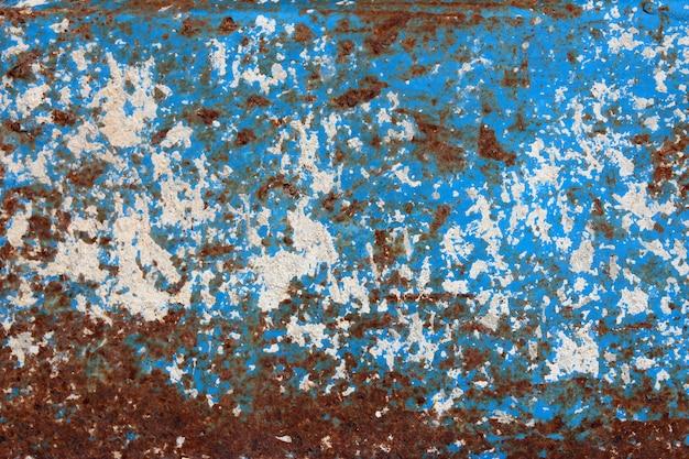 Fond de rouille métallique, texture de fond de rouille grunge