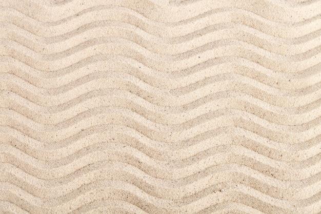 Fond de sable de mer. repos d'été.
