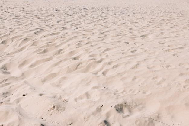 Fond de sable avec de petites dunes