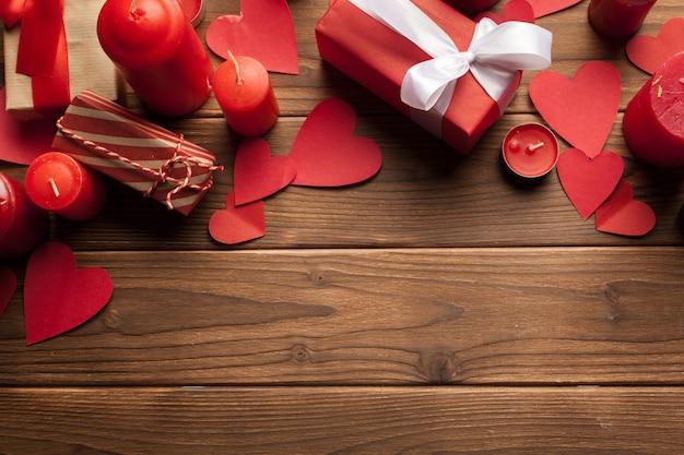 Fond de saint valentin heureux