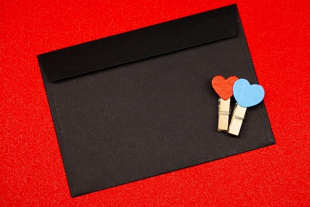 Fond de saint valentin. lieu vide pour copier l'espace pour le texte