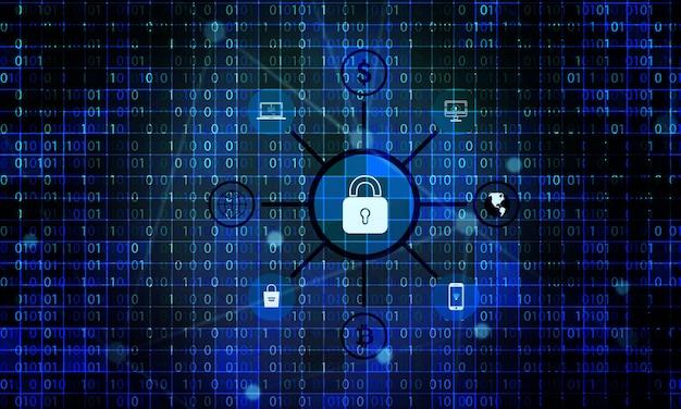 Fond de sécurité réseau