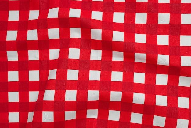 Fond de serviette rouge. espace de copie.