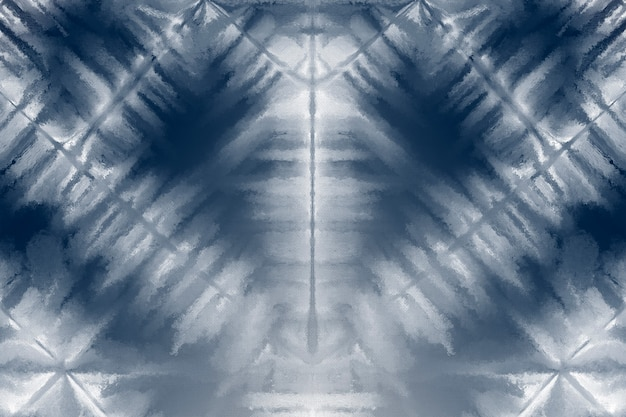 Fond shibori avec motif bleu indigo