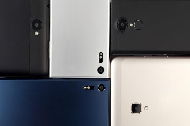 Fond de smartphones et tablettes