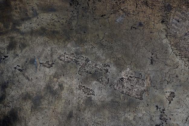 Fond sombre. vieux ciment sombre ou texture de mur en béton pour fond de papier.