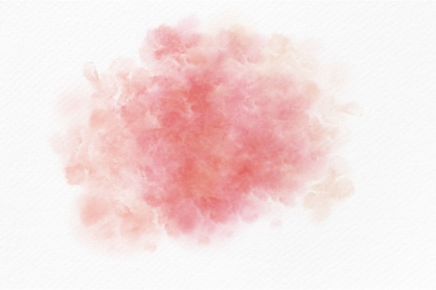 Fond de splash abstrait aquarelle rose