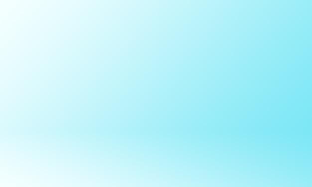Fond de studio bleu dégradé clair